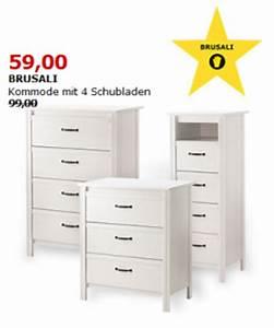 Ikea Kommode Brusali : ikea kommoden malm brimnes und brusali um bis zu 40 reduziert liveshopping aktuell ~ Watch28wear.com Haus und Dekorationen