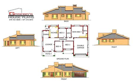 Gosebo House Plans  Sekhukhune Projects, Photos, Reviews