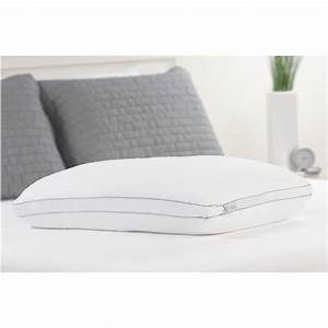 Fresh foam comfort revolution memory foam core bed pillow for Comfort revolution king pillow