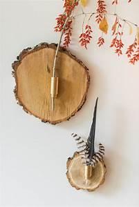 Deko Aus Holz : diy herbstliche wanddeko aus baumscheiben leelah loves ~ Orissabook.com Haus und Dekorationen