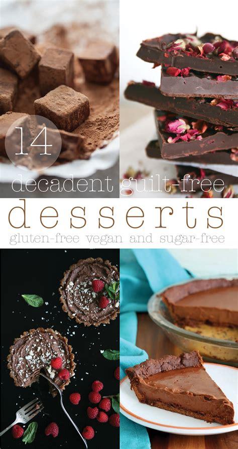 14 decadent guilt free sugar free desserts ella