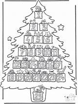 Coloring Advent Popular sketch template