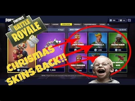 theyre   christmas skins  fortnite battle royal