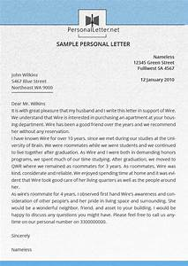 Our personal letter service personal letter for Personal letter writing service
