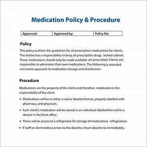 best photos of policies and procedures manual template With it policy and procedures template