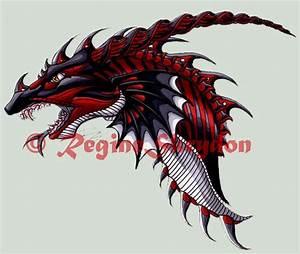Dragons - Ladon C by RegineSkrydon on DeviantArt
