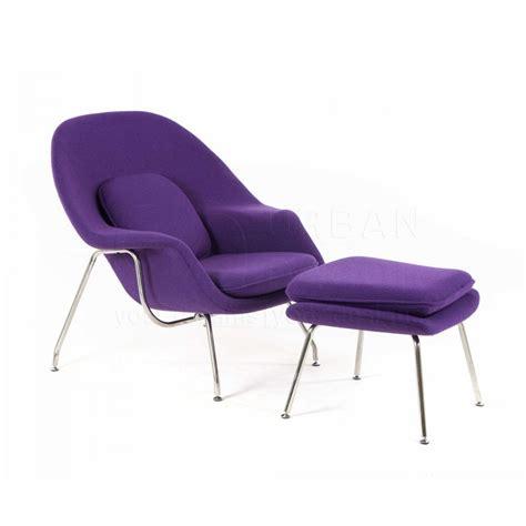 replica womb lounge chair w ottoman