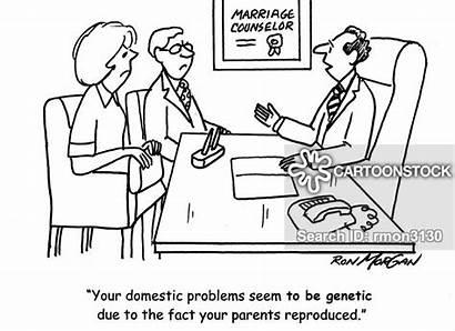 Genetic Therapy Marital Disease Cartoon Cartoons Funny