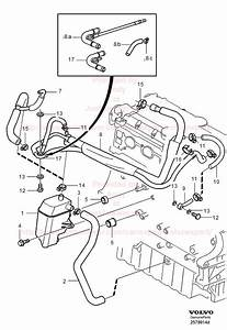 i would like to know where an oil leak from the vicinity With diagram 2000 volvo s80 t6 vacuum diagram 2000 volvo s80 engine diagram