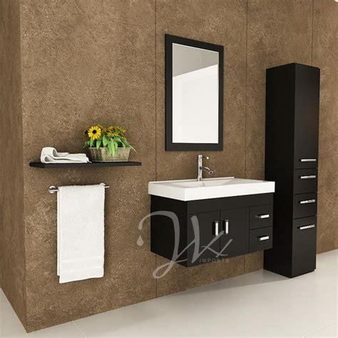 lyra single bathroom vanity modern san diego