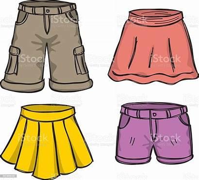 Cartoon Shorts Skirts Doodle Pantalones Cortos Imagenes