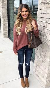 Best 25+ Cute sweater outfits ideas on Pinterest | Cute outfits for fall Cute outfits for ...