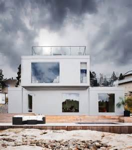 scandinavian design house all white scandinavian house design with views digsdigs