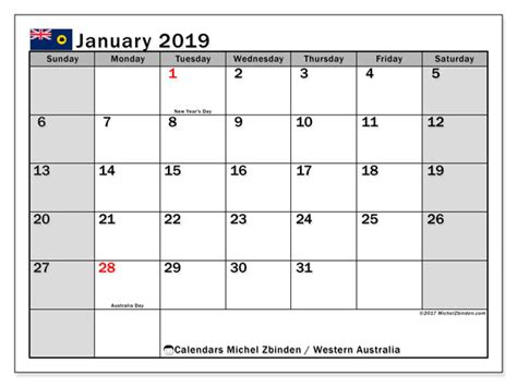 calendars january public holidays australia michel zbinden en
