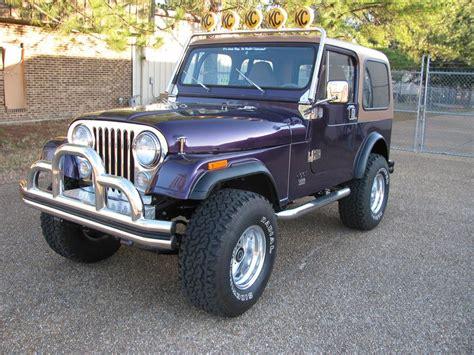 jeep cj  custom suv