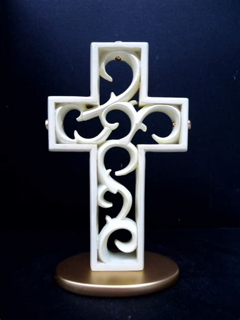 pearl cake topper the unity cross promised hearts