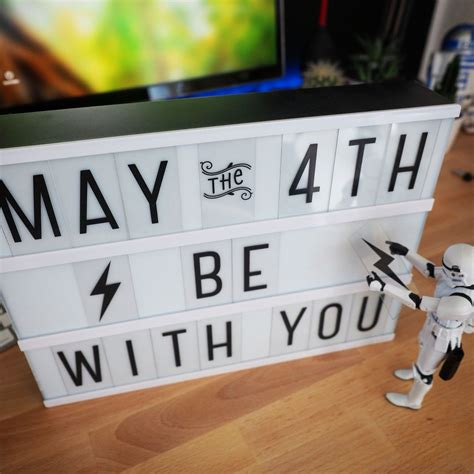 Happy Star Wars Day • May the 4th be with you! #starwars # ...