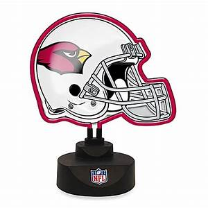 Buy NFL Arizona Cardinals Neon Helmet Lamp from Bed Bath