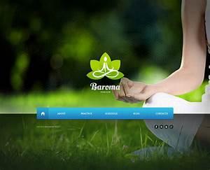 Yoga Website Template  45860