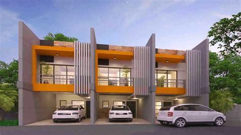 Modern Row House Design Philippines Youtube