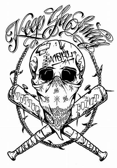 Tattoo Skull Crazy Tattoos Drawings Designs Cloud