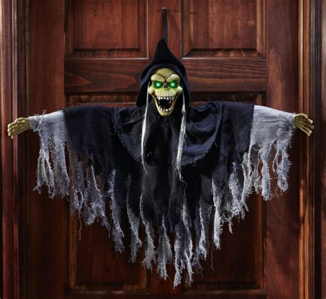motion activated halloween ghoul greeter gadgets matrix