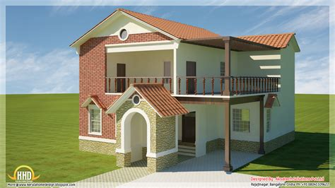 house plans modern 5 beautiful modern contemporary house 3d renderings home