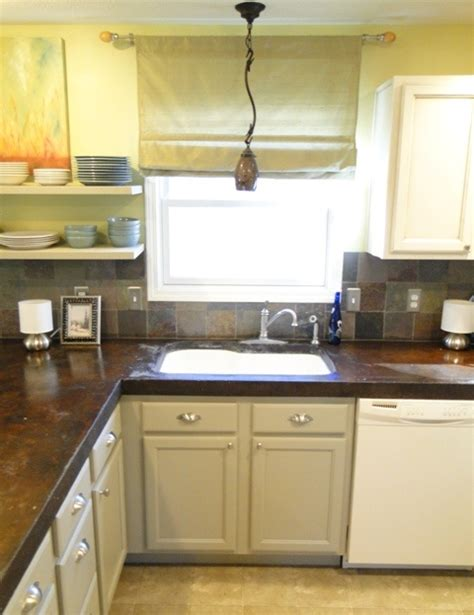17 best ideas about stained concrete countertops on