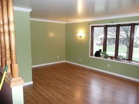 white trim with oak window surround   Living Room