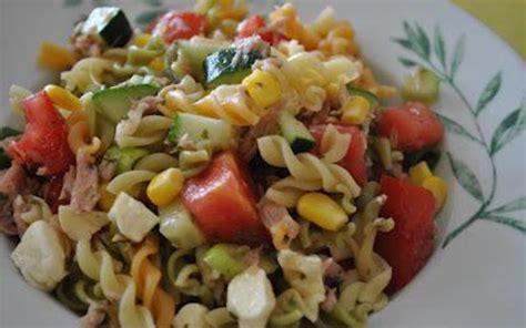salade de pates recette recette salade de p 226 tes estivale pas ch 232 re gt cuisine 201 tudiant
