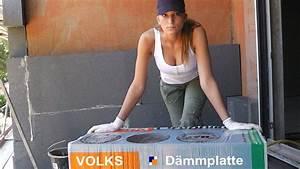 Styropor Auf Holz Kleben : wdvs fassaden d mmplatten richtig verkleben fassadend mmung ganz einfach youtube ~ Orissabook.com Haus und Dekorationen