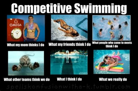 Competitive Swimming Memes - swimming memes
