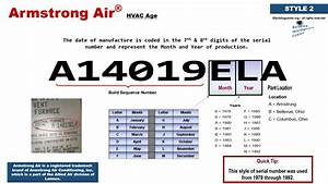 Armstrong Air Hvac Age