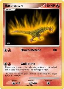 Pokémon Haxorus 37 37 - Draco Meteor - My Pokemon Card