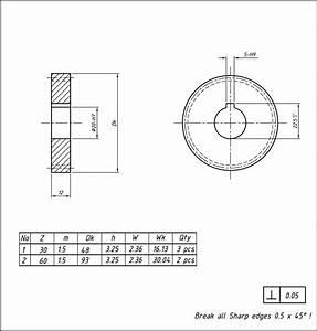 Machining: DIY spur gear making for change gear part 1