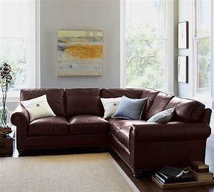 Webster leather 3 piece l shaped sectional with corner for 3 piece corner sectional sofa