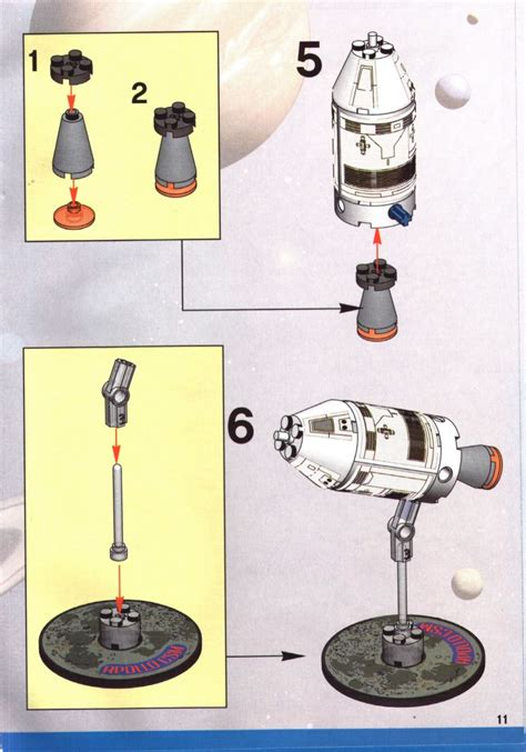 Lego Saturn V Moon Mission Instructions 7468, Discovery