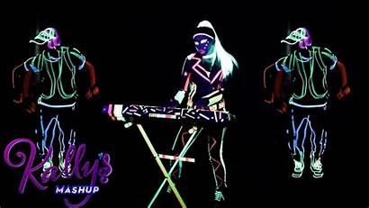 Mashup Kally Collide Worlds Glow Fluo Fosforescenti