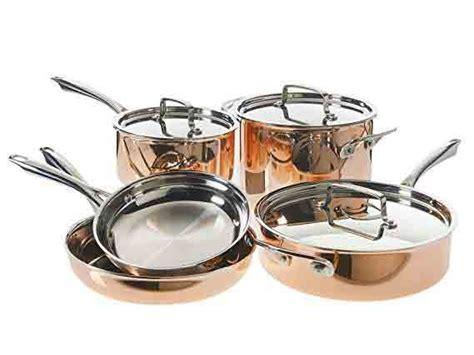 cuisinart tri ply copper cookware set copper cookware set cookware set stainless steel