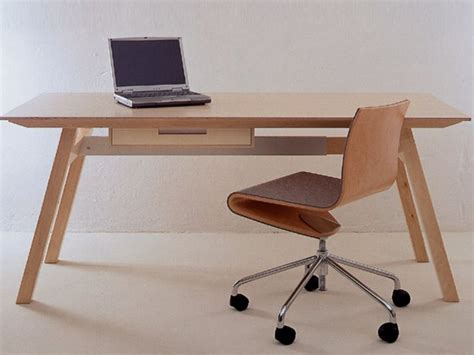 table bureau design table bureau en bois multi niveau universal by