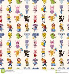 Illustration Animals Pattern