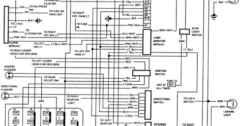 1994 Buick Lesabre Ignition Switch Wiring Diagram by 1992 Buick Lesabre Schematic Wiring Diagrams Schematic