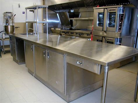 commercial kitchen furniture stainless steel prep table modern home interiors