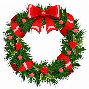Transparent Christmas Wreath PNG Clipart | Gallery ...