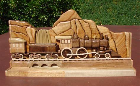 intarsia train intarsia wood intarsia woodworking
