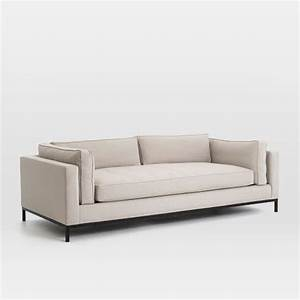 "Modern Arm Sofa (92"") west elm"