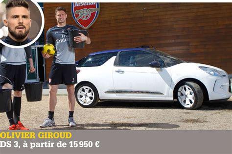 les voitures des joueurs de lequipe de de football