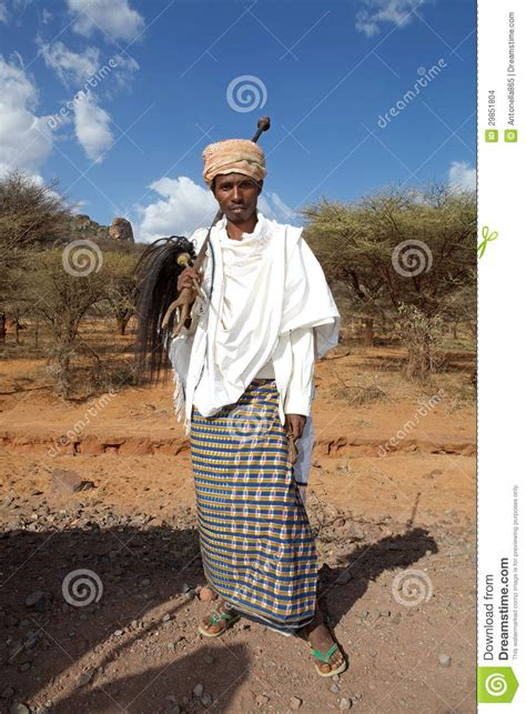 african man  traditional clothes editorial stock image