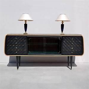 Sideboards Italienisches Design : stylish italian veneer sideboard with granite top circa 1950s for sale at 1stdibs ~ Markanthonyermac.com Haus und Dekorationen