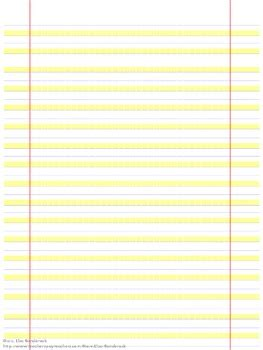 highlighted handwriting paper great modification  lisa